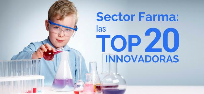 Industria farmaceutica- las top 20 innovadoras